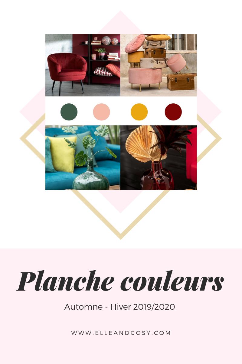 Planche couleur